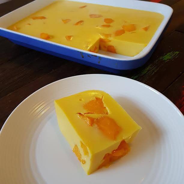 No Bake Mango Mousse Slice Twins And A Blog