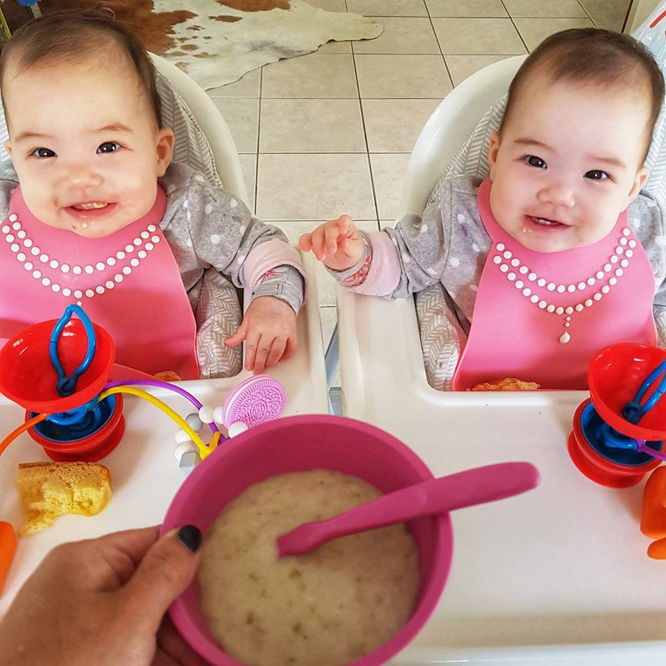 Baby food twins and a blog this is a variation of my pear porridge which is very baby friendly i have been making this for the girls for their breakfast from when they turned 6 forumfinder Choice Image